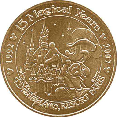 piece de monnaie disney